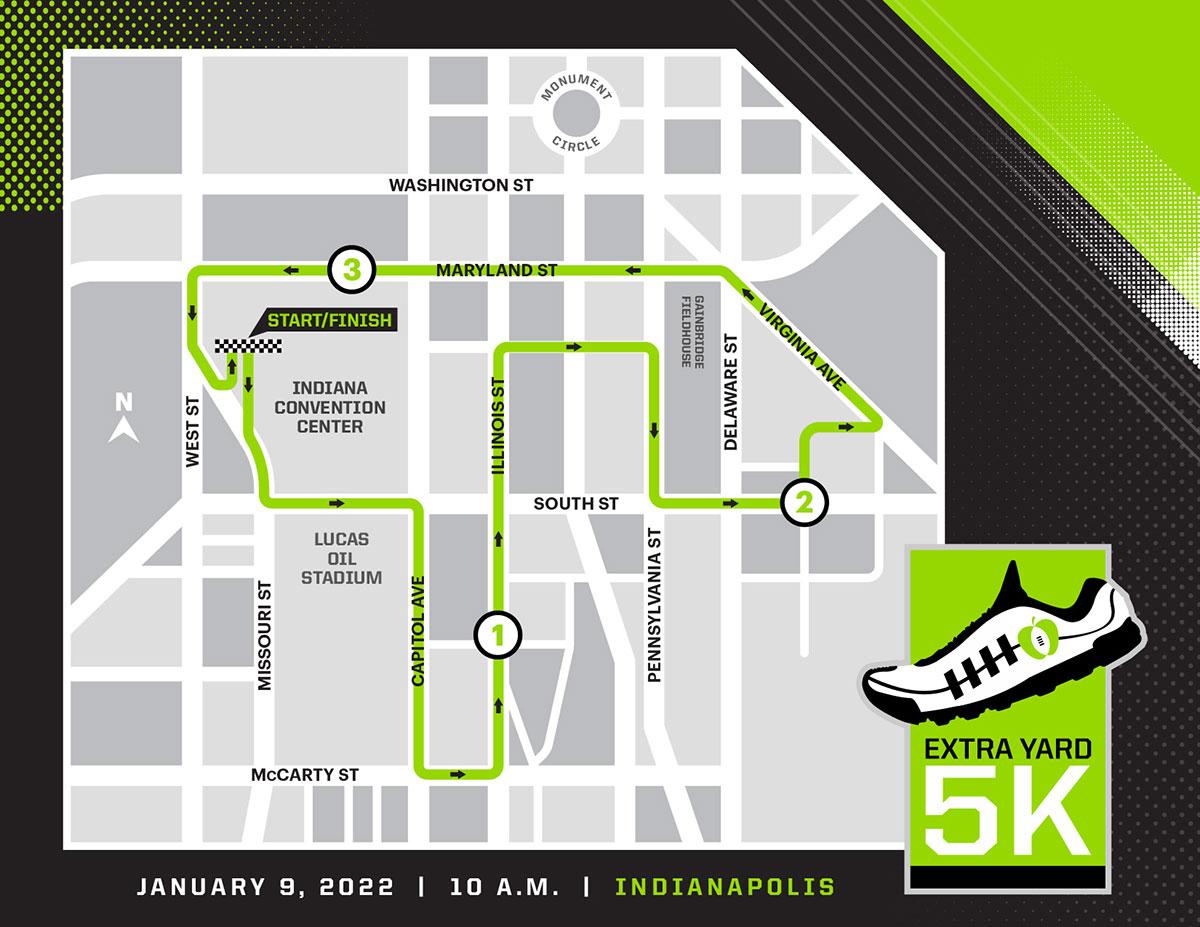 CPG 2022 5k Championship Weekend RunMap